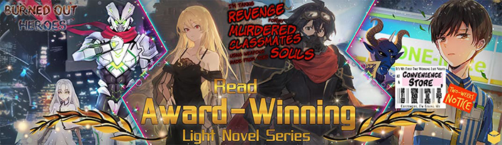 award winning light novels